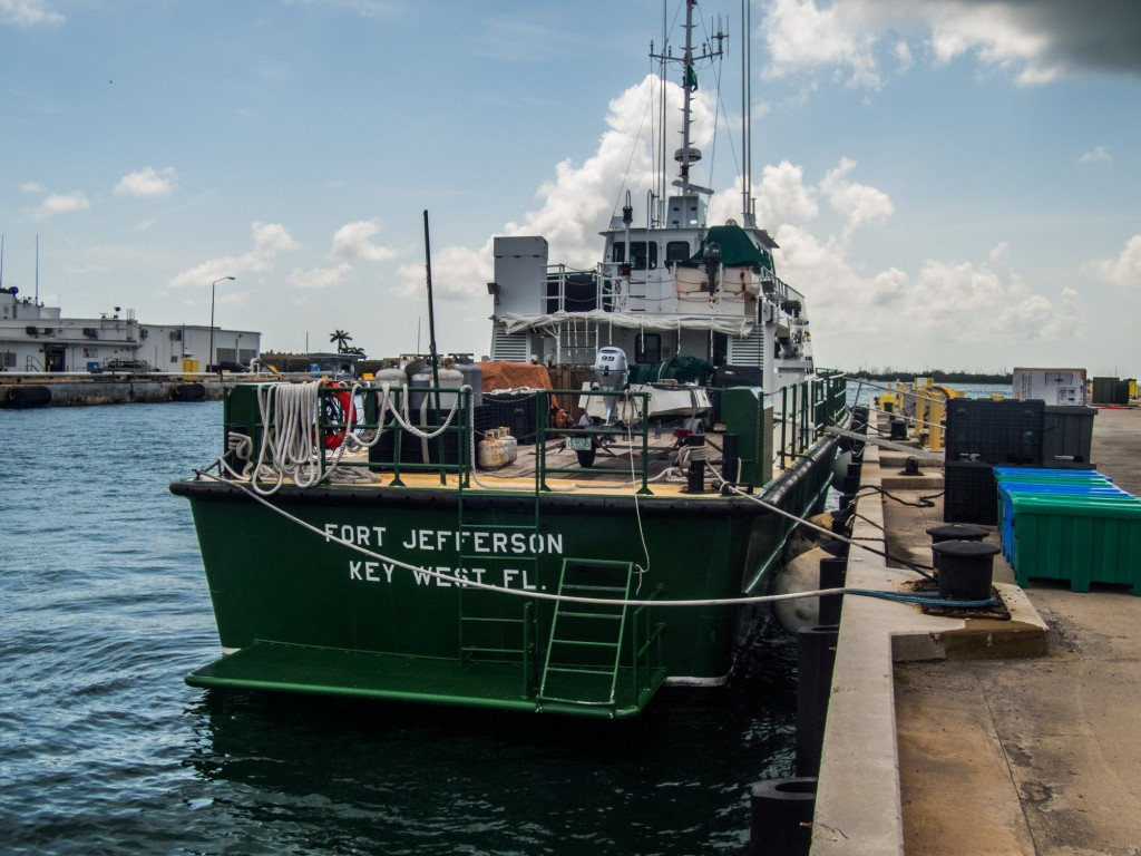 The Motor Vessel Fort Jefferson
