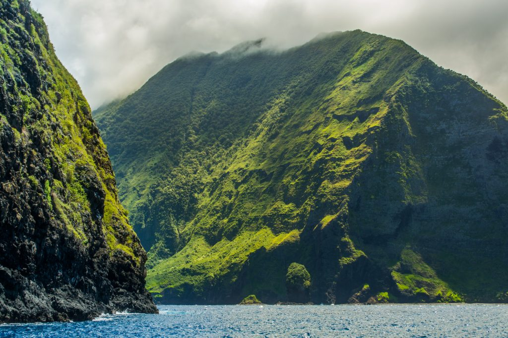You might recognize the sea cliffs of Kalaupapa from the original Jurassic Park movie!